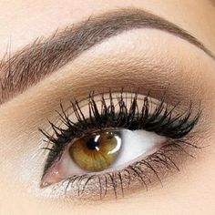 Bridal Eye Makeup For Hazel Eyes : Natural look great for green eyes. My Style Pinterest ...