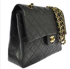 Chanel #double Flap Gold Hardware Shoulder Bag