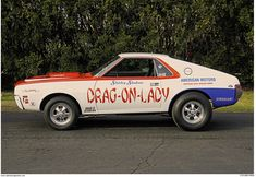 Sports Car Racing, Drag Racing, Lightning Aircraft, Amc Javelin, Old Race Cars, Race Engines, American Motors, Mustang Cars, Drag Cars