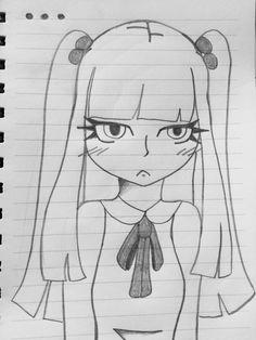 Art Drawings Sketches Simple, Girl Drawing Sketches, Anime Girl Drawings, Girly Drawings, Pencil Art Drawings, Beautiful Drawings, Cartoon Drawings, Easy Drawings, Animal Drawings