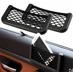 Cheap bag auto, Buy Quality bag holder organizer directly from China bag organizer insert Suppliers: Universal Car Seat Side Back Net Storage Bag Phone Holder Pocket Viechle Door Organizer for iPhone 5 6 Samsung Huawei Xiaomi Vw T3 Camper, Diy Camper, Vw Lt, Mini Car, Kombi Home, Door Organizer, Pocket Organizer, Car Organizers, Honda Element