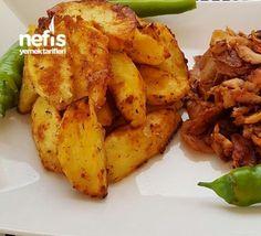 Firinda Yogurtlu Patates ( Enfess ) Chicken Wings, French Toast, Food And Drink, Pasta, Breakfast, Ali, Recipes, Kitchens, Yogurt