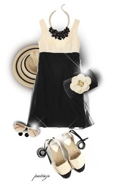 Summer Lace by rockreborn on Polyvore featuring Chanel, Serpui, Talbots, Vince Camuto, Filù Hats and Witchery