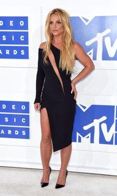 Britney's dress was so beautiful that night