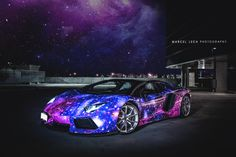 2014 Galaxy Lamborghini Aventador RoadsterNot to be confused with a Ford Galaxy, the 2014 Galaxy Lamborghini Aventador Roadster wasnt a specia