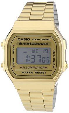 Casio Montre Unisexe A168WG-9EF 2017 #2017, #Montresbracelet http://montre-luxe-homme.fr/casio-montre-unisexe-a168wg-9ef-2017/