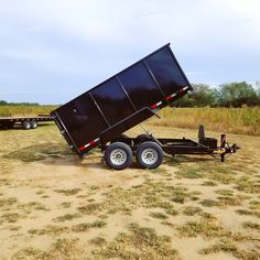 7 x 12 down 2 earth dump trailer by best trailers. gvwr and 4 ft sides Best Trailers, Dump Trailers, Earth, Dump Trucks
