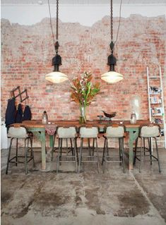 industrial chic laid back conference space