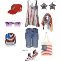 4th of july activewear