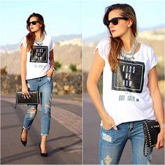 Liketosurf T Shirt, Mango Jeans