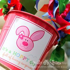 adorable printables for your easter baskets!