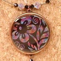 Mixed-Media Jewelry: Free Resin Bezel Project by Kristal Wick - Jewelry Making Daily - Jewelry Making Daily