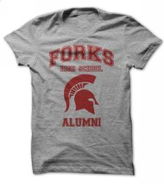 Forks High School Alumni Tee - custom sweatshirts #checked shirt #tshirts