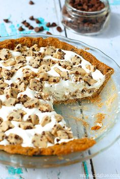 Easy Cookie Dough & Cool Whip Pie | 23 Cookie Dough Desserts That Went Above And Beyond