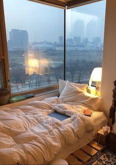 Room Design Bedroom, Room Ideas Bedroom, Bedroom Decor, Dream Rooms, Dream Bedroom, Minimalist Room, Dream Apartment, Cozy Room, Dream Home Design