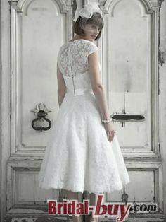 lace wedding dress short wedding dress