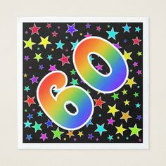 Shop Colorful Stars + Rainbow Pattern Event # Napkins created by AponxDesigns. Rainbow Theme, Rainbow Flag, 60 Wedding Anniversary, Anniversary Parties, Diy Party, Party Favors, Pride Day, Food Deserts, Press Machine