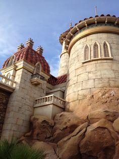 Prince Eric's Castle in the new Fantasyland in the Magic Kingdom, Walt Disney World, FL