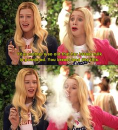 WHITE CHICKS! and the first time i pinned this it was accidentally onto my AWWWWWWWW board so double win!