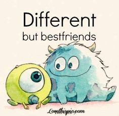 Different but best friends quotes quote friends best friends friend different bffs