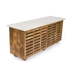 Wood & Marble Sideboard | dotandbo.com