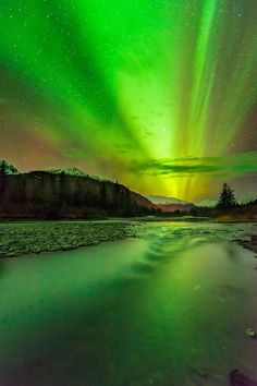 Chugach National Forest Northern Lights | ... Portage Valley, Chugach National Forest, Alaska, in early November
