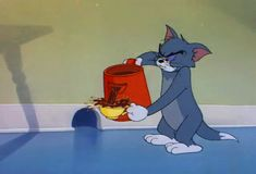 Tom and Jerry Tom And Jerry Gif, Tom And Jerry Memes, Tom And Jerry Cartoon, Looney Tunes Cartoons, Old Cartoons, Animated Cartoons, Funny Cartoons, Cartoon Network, Classic Cartoon Characters