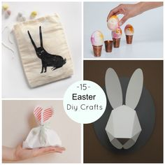 15 Easter DIY Crafts // DIY Ostern