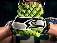 Seahawks football gloves!!