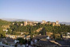 Vista general #Alhambra #Granada desde el mirador de San Nicolas