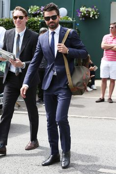 The Most Stylish Men Watching Wimbledon Right Now Photos | GQ
