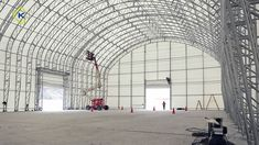 Kroftman fabric buildings for the mining industry - YouTube