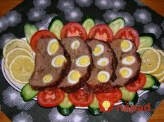 Beef Roulade, Russian Recipes, Chicken Eggs, White Bread, Sushi, Good Food, Rolls, Favorite Recipes, Ale