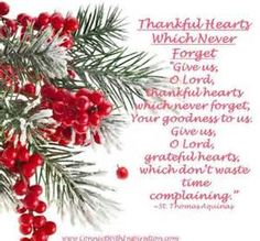 Prayer Thanksgiving, Thankful Hearts