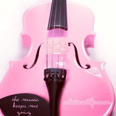 Music sounds in pink!