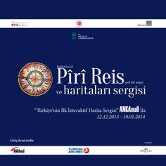 #PiriReis'in haritaları Ankaralılarla buluşuyor!