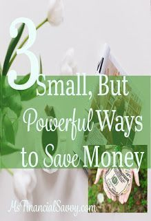 3 Small but powerful ways to save money. Tax time is upon us, so this will help you with a windfall. Best Money Saving Tips, Ways To Save Money, Money Tips, Saving Money, How To Make Money, Money Budget, Frugal Living Tips, Frugal Tips, Money Now