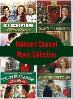I looooove my Hallmark Channel Christmas movies!! Each year I get excited to see what new movies they add to the collection. I love sitting in the living room with the lights on the tree and watching a holiday movie. This year there are some great new ones!