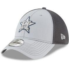 fde16134b5f Adult New Era Houston Astros Grayed Out Flex-Fit Cap