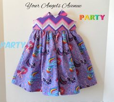 Baby Girls Toddler My Little Pony Purple and by YourAngelsAvenue