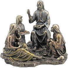 Miracle Of The Five Loaves And Two Fish Religious Figurine Statue Sculpture Statuary-Home Décor-Decorations-Christian Related Gifts-Available for Sale at AllSculptures.com