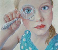 Loupe (magnifying glass) by Jantina Peperkamp
