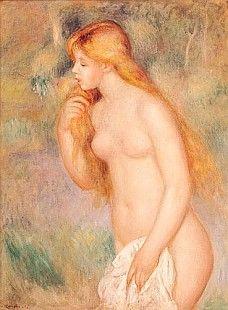 Pierre-Auguste Renoir - Standing Bather