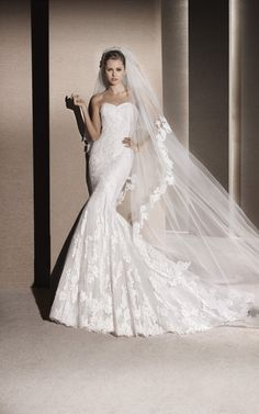 LA SPOSA - By PRONOVIAS. MULLET is a beautiful lace piece out of our 2016 Collection <3