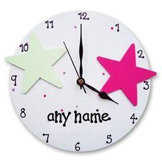 Personalized White Salsa Wall Clock