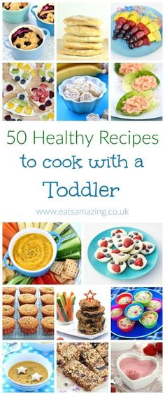 Top tips for how to cook with toddlers and 50 easy healthy recipes to cook with younged kids - Eats Amazing UK | https://lomejordelaweb.es/