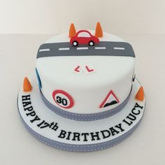 Learner Driver Birthday Cake – Gorgeous Fence Ideas and Designs Boys 16th Birthday Cake, Latest Birthday Cake, 17th Birthday Gifts, Adult Birthday Cakes, Birthday Ideas, Cake Pictures, Cake Pics, Cake Makers, Pastel