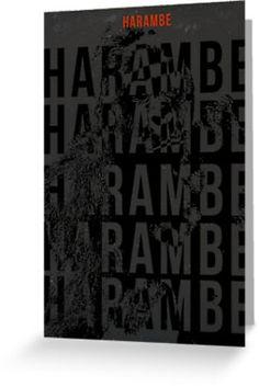 Harambe Graphic 1
