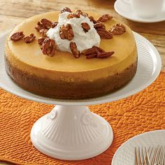 Pumpkin Cheesecake | Coastalliving.com