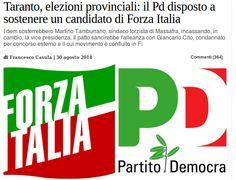 Una Paura fottuta di perdere le elezioni Provinciali, che po